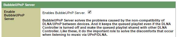 DLNA(UPnP) - BubbleUPnP Server